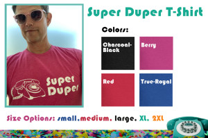 Super Duper T-shirt Graphic